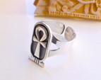 Rings Cartouche jewelry Egyptian silver rings
