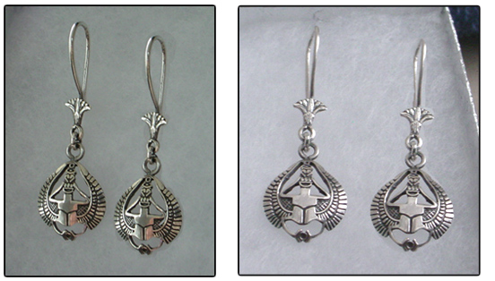 Scarab Earrings - Scarab Jewelry