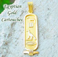 Cartouche Jewelry 18k gold jewelry - Personalized cartouche gold